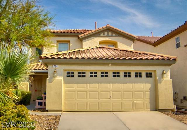 734 Penshaw Bridge Avenue, Las Vegas, NV 89178 (MLS #2224179) :: Jeffrey Sabel