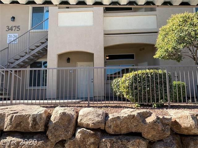 3475 Cactus Shadow Street #101, Las Vegas, NV 89129 (MLS #2225019) :: Kypreos Team