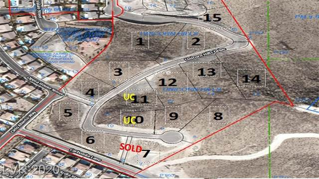 317 Unicorn Hills Drive, Henderson, NV 80912 (MLS #2229500) :: Jeffrey Sabel