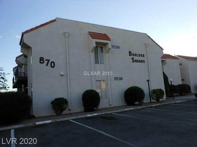 870 Avenue B #204, Boulder City, NV 89005 (MLS #2231731) :: Signature Real Estate Group