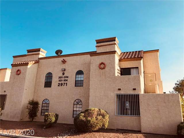 2971 Juniper Hills Boulevard #101, Las Vegas, NV 89142 (MLS #2233658) :: The Perna Group