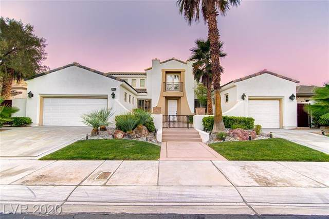 2287 Green Mountain Court, Las Vegas, NV 89135 (MLS #2235415) :: The Lindstrom Group