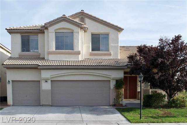 7508 Coral River Drive, Las Vegas, NV 89131 (MLS #2240703) :: The Lindstrom Group