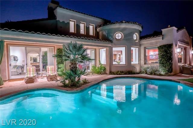 2835 Evening Rock Street, Las Vegas, NV 89135 (MLS #2241413) :: The Lindstrom Group