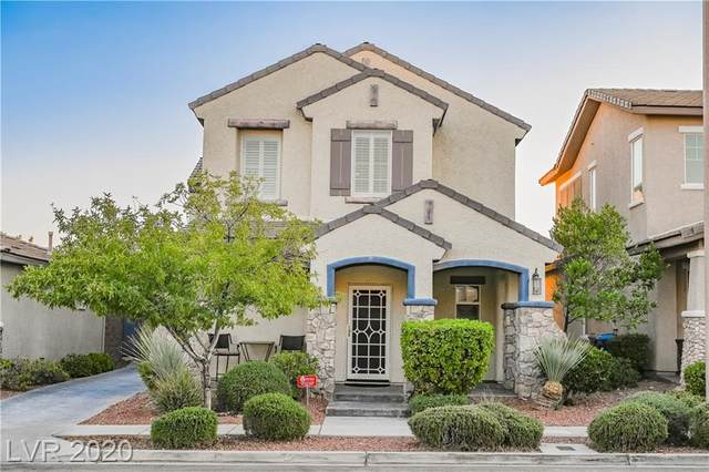 10487 Howling Coyote Avenue, Las Vegas, NV 89135 (MLS #2241535) :: The Lindstrom Group