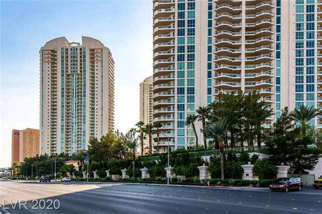 2857 Paradise Road #1901, Las Vegas, NV 89109 (MLS #2241650) :: The Lindstrom Group