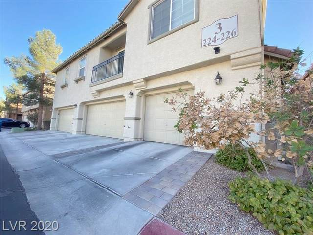 6250 Arby Avenue #224, Las Vegas, NV 89118 (MLS #2243263) :: Kypreos Team
