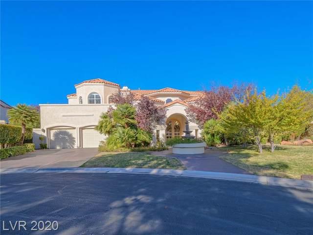 65 Princeville Lane, Las Vegas, NV 89113 (MLS #2243624) :: The Lindstrom Group