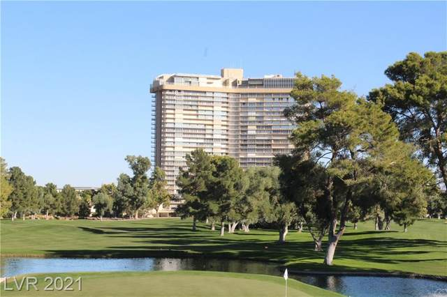 3111 Bel Air Drive 3H, Las Vegas, NV 89109 (MLS #2243774) :: Signature Real Estate Group