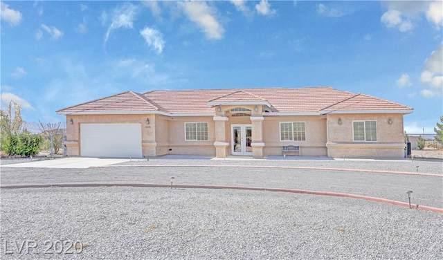 3390 Rainbow Avenue, Pahrump, NV 89048 (MLS #2244439) :: The Lindstrom Group