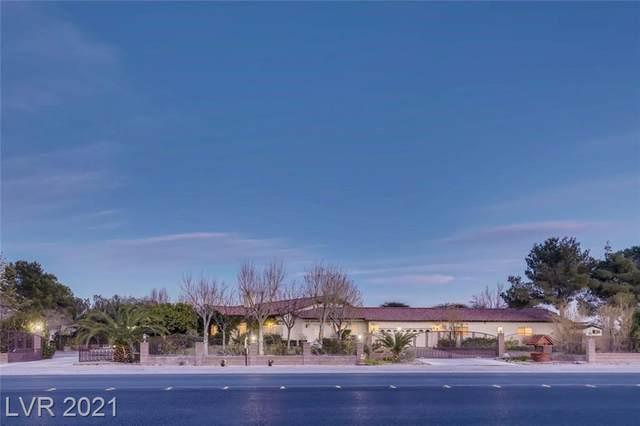 5750 Alpine Ridge Way, Las Vegas, NV 89149 (MLS #2246633) :: Signature Real Estate Group
