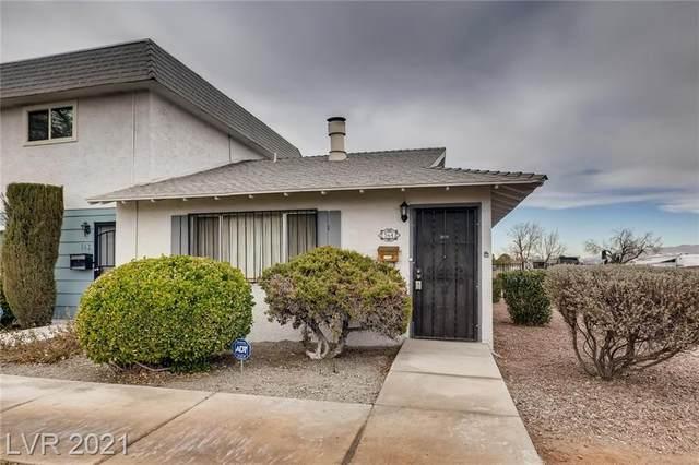 564 Greenbriar Townhouse Way, Las Vegas, NV 89121 (MLS #2248695) :: The Shear Team