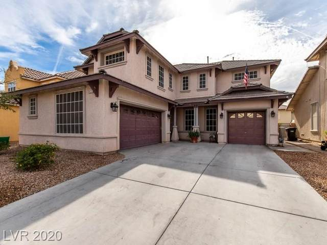2625 Cliff Lodge Avenue, North Las Vegas, NV 89081 (MLS #2249306) :: The Lindstrom Group