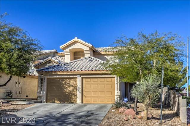 7552 Durham Hall Avenue #101, Las Vegas, NV 89130 (MLS #2249814) :: The Lindstrom Group