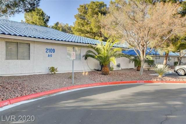 2109 Willowbury Drive B, Las Vegas, NV 89108 (MLS #2250144) :: Kypreos Team