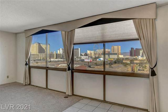 205 Harmon Avenue #808, Las Vegas, NV 89169 (MLS #2251081) :: The Perna Group