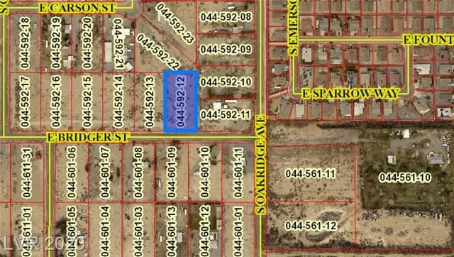 2260 Bridger Street, Pahrump, NV 89048 (MLS #2253326) :: The Perna Group