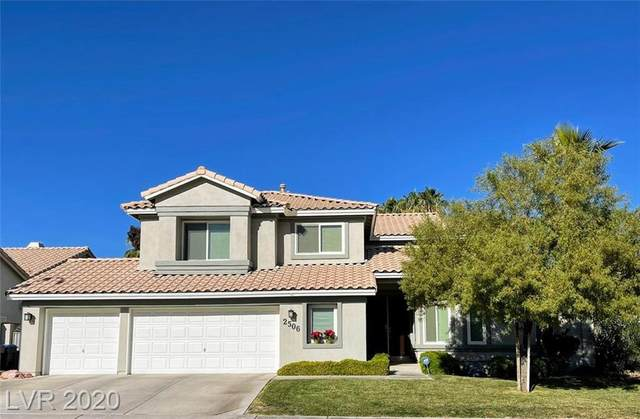 2506 Mahaila Circle, Henderson, NV 89074 (MLS #2253934) :: The Perna Group