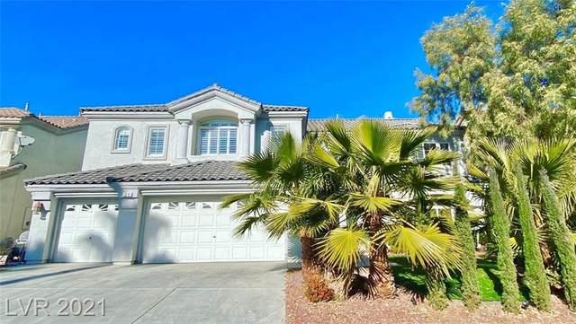 34 Big Creek Court, Las Vegas, NV 89148 (MLS #2254283) :: Vestuto Realty Group