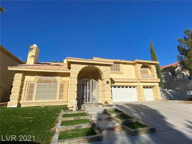 8752 Castle View Avenue, Las Vegas, NV 89129 (MLS #2256877) :: Team Michele Dugan