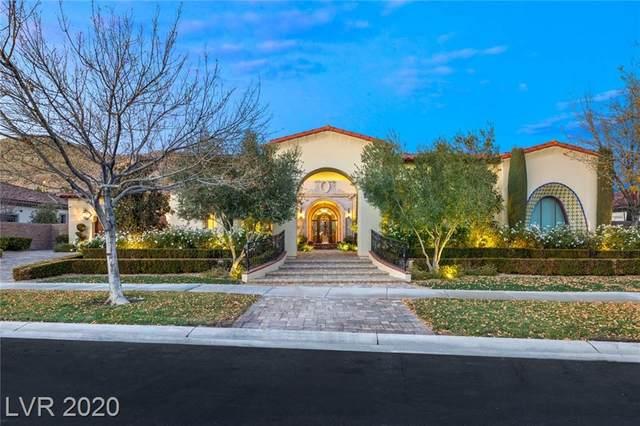 18 Greenside Drive, Las Vegas, NV 89141 (MLS #2257923) :: Jeffrey Sabel