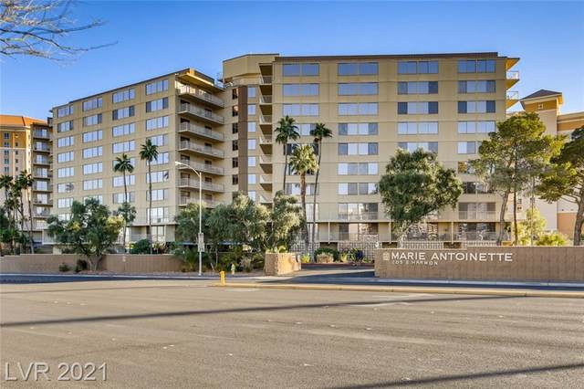 205 Harmon Avenue #308, Las Vegas, NV 89169 (MLS #2258242) :: Vestuto Realty Group