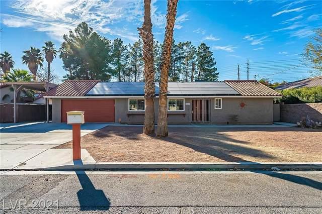 3353 Rochelle Avenue, Las Vegas, NV 89121 (MLS #2259343) :: The Lindstrom Group