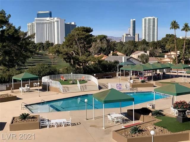 3111 Bel Air Drive 4G, Las Vegas, NV 89109 (MLS #2260736) :: Signature Real Estate Group