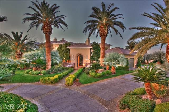 10432 Summit Canyon Drive, Las Vegas, NV 89144 (MLS #2262029) :: Signature Real Estate Group
