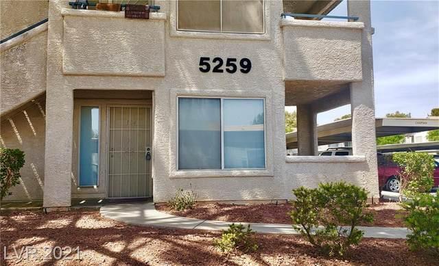 5259 Caspian Springs Drive #104, Las Vegas, NV 89120 (MLS #2269427) :: Team Michele Dugan