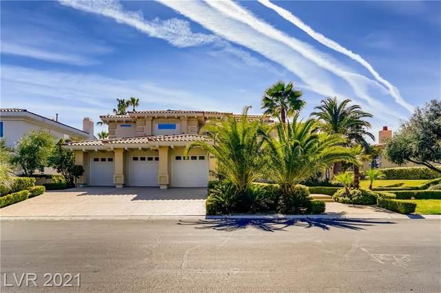 8805 Spanish Mountain Drive, Las Vegas, NV 89148 (MLS #2270003) :: Billy OKeefe | Berkshire Hathaway HomeServices