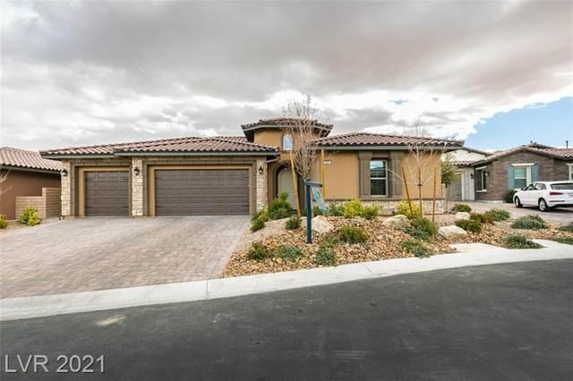 268 Tarragona Breeze Avenue, Las Vegas, NV 89138 (MLS #2271844) :: Signature Real Estate Group