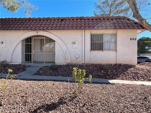 849 Mantis Way #1, Las Vegas, NV 89110 (MLS #2272418) :: Jeffrey Sabel