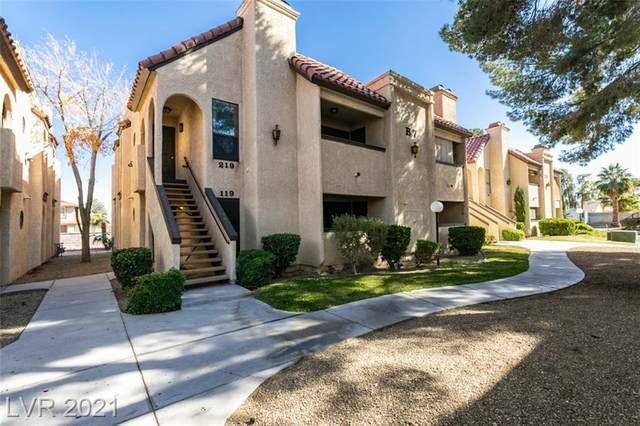 1751 Reno Avenue #219, Las Vegas, NV 89119 (MLS #2273156) :: Jeffrey Sabel