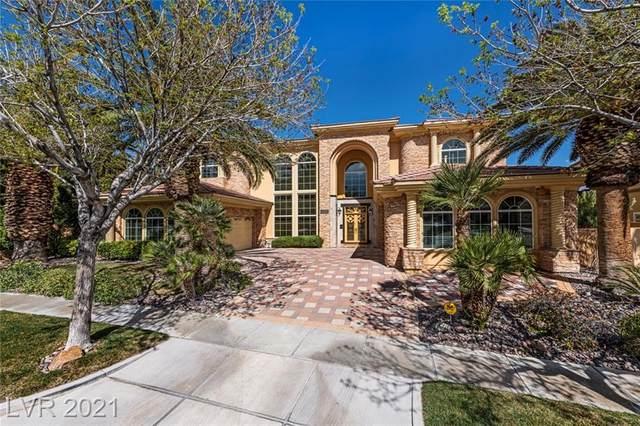 9260 Tournament Canyon Drive, Las Vegas, NV 89144 (MLS #2277552) :: The Perna Group
