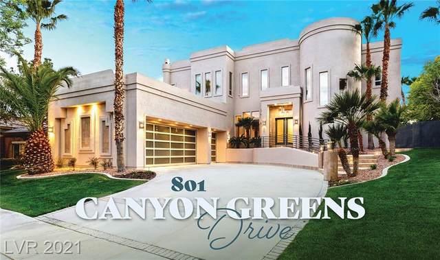 801 Canyon Greens Drive, Las Vegas, NV 89144 (MLS #2279184) :: The Perna Group