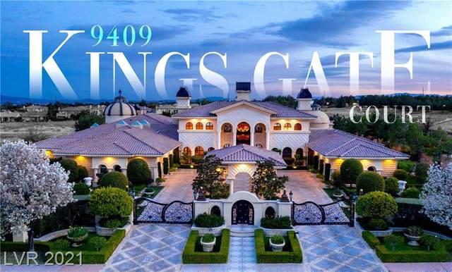 9409 Kings Gate Court, Las Vegas, NV 89145 (MLS #2279825) :: Vestuto Realty Group