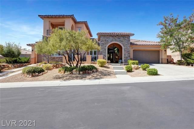 631 Chervil Valley Drive, Las Vegas, NV 89138 (MLS #2283981) :: Jeffrey Sabel