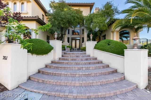 761 Romano Lane, Henderson, NV 89012 (MLS #2285151) :: Signature Real Estate Group
