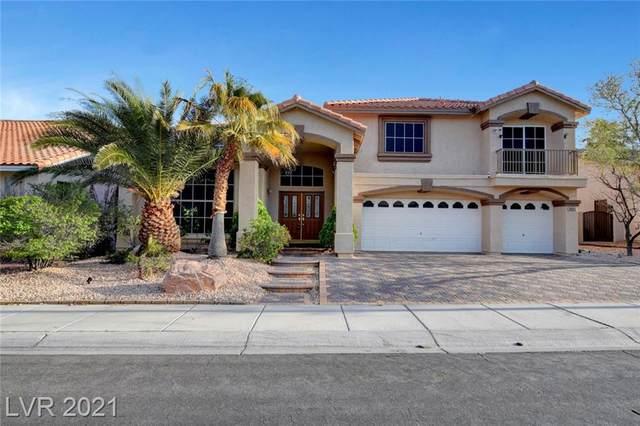8645 Castle Hill Avenue, Las Vegas, NV 89129 (MLS #2285370) :: Jeffrey Sabel