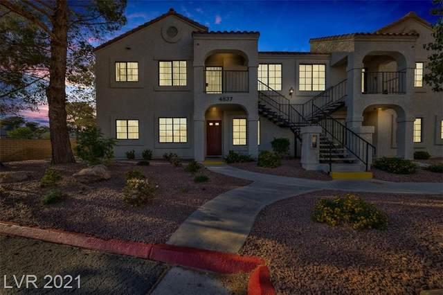 4837 Nara Vista Way #201, Las Vegas, NV 89103 (MLS #2290013) :: Signature Real Estate Group