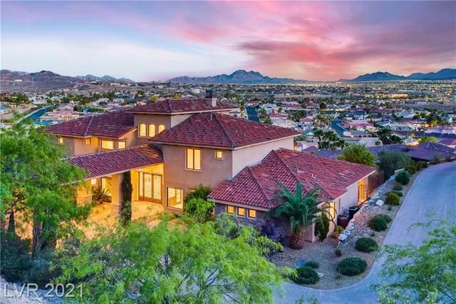 964 Black Lava Court, Henderson, NV 89011 (MLS #2290047) :: Signature Real Estate Group