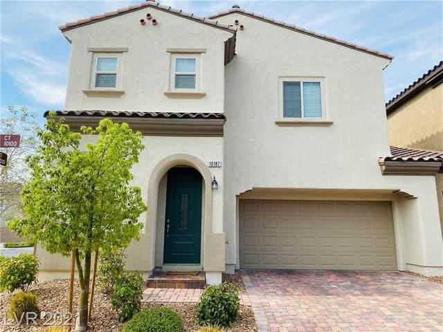 10187 Stoney Glen Court, Las Vegas, NV 89148 (MLS #2294146) :: Jeffrey Sabel