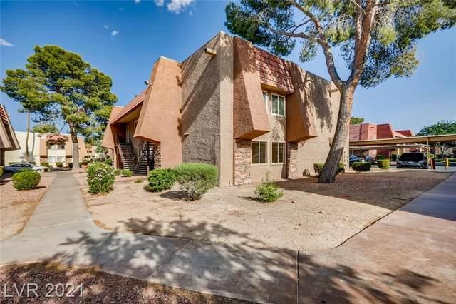 4431 Alexis Drive #421, Las Vegas, NV 89103 (MLS #2295256) :: Lindstrom Radcliffe Group