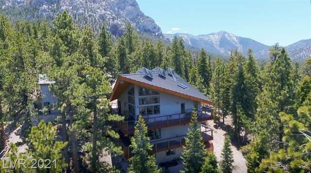 2470 Avalanche Trail, Mount Charleston, NV 89124 (MLS #2297160) :: Jeffrey Sabel