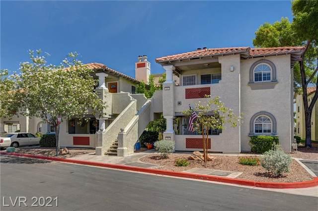 6836 Elm Creek Drive #103, Las Vegas, NV 89108 (MLS #2298609) :: Lindstrom Radcliffe Group