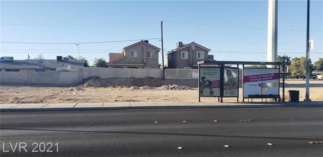 Sahara, Las Vegas, NV 89104 (MLS #2302410) :: Lindstrom Radcliffe Group