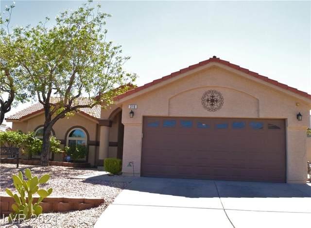 316 Oak Canyon Drive, Henderson, NV 89015 (MLS #2303127) :: Lindstrom Radcliffe Group