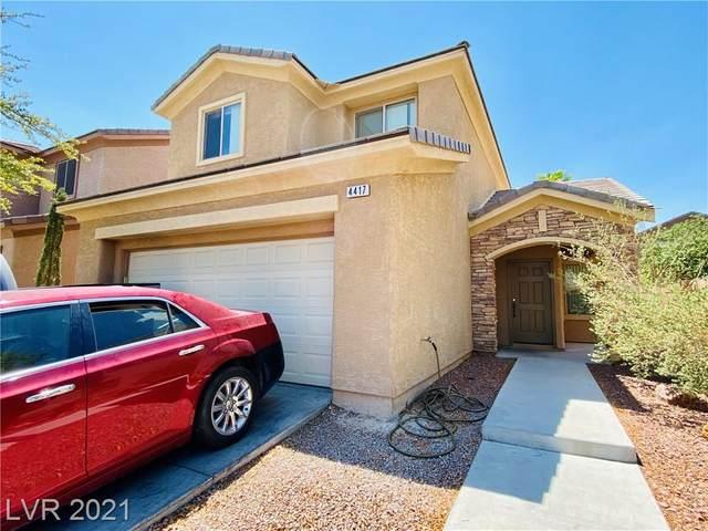 4417 Penguin Avenue, North Las Vegas, NV 89084 (MLS #2307464) :: Lindstrom Radcliffe Group