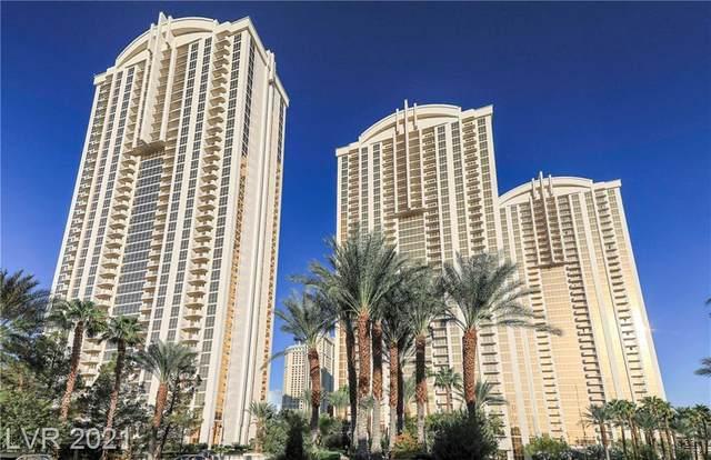 145 E Harmon Avenue #2801, Las Vegas, NV 89109 (MLS #2309883) :: Jeffrey Sabel